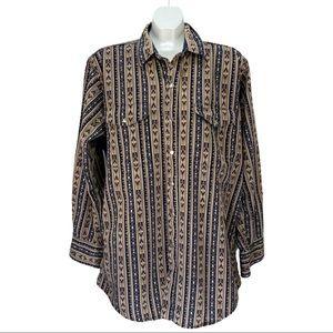 Mid-West Garment Co. Western Button Down Shirt